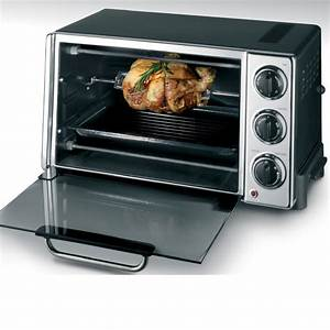 Convection Toaster Oven Rotisserie 6 Slice Kitchen ...