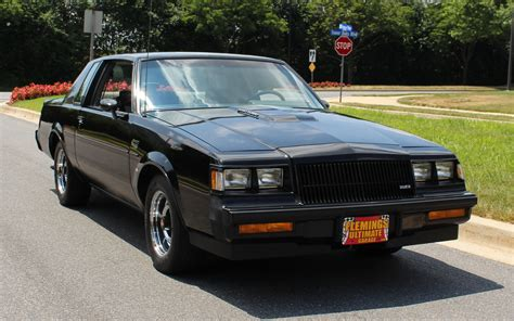 Buick Grand National 1987 by 1987 Buick Regal Grand National For Sale 79983 Mcg