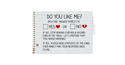 Do You Like Me? Cards