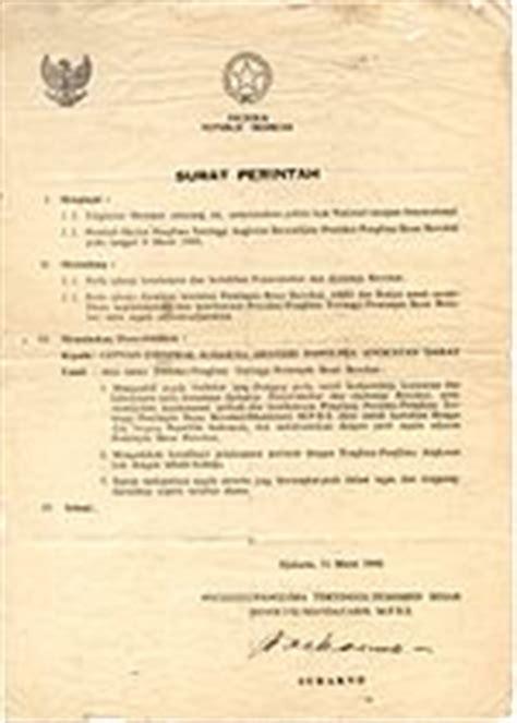 surat perintah sebelas maret wikipedia bahasa indonesia