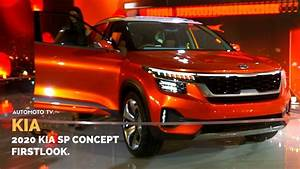 2020 Kia SP Concept India Auto Expo 2018 YouTube