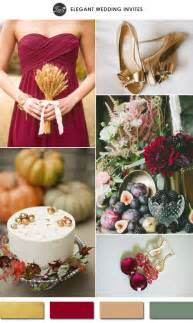 november wedding colors 10 gold wedding color ideas 2016 wedding trends part two