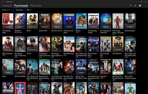 Microsoft Refreshes The Look Of Movies And Tv For Some
