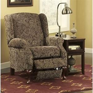 Ashley Nadior Fabric High Leg Recliner In Paisley 2800326