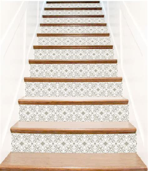 1000 ideas about stair risers on pinterest painted