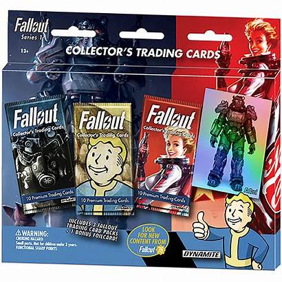 Trading Cards Fallout Pack Series Blister Bonus