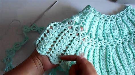 blusa a crochet ganchillo tejida dama facil y rapido parte 2 youtube