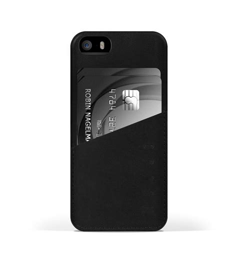 iphone 5s leather leather iphone 5s wallet black mujjo