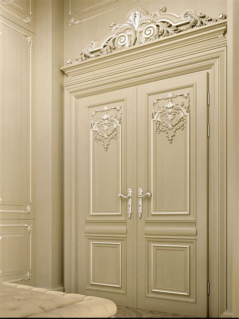 custom  handmade doors faoma interior design