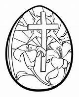 Easter Egg Coloring Printable Adults sketch template