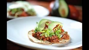 tostadas de picadillo recetas de cocina mexicana como