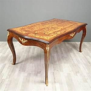 Meuble Style Louis Xv : table louis xv meubles de style ~ Dallasstarsshop.com Idées de Décoration