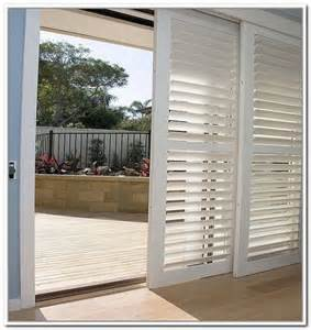 shutters plantation shutter and sliding glass door on