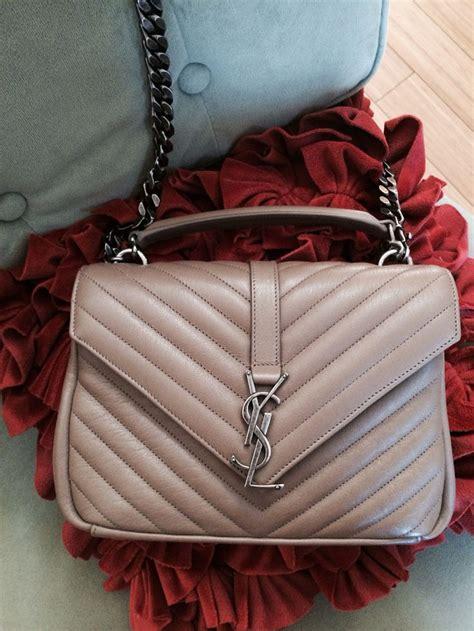 saint laurent college bag medium  taupe purses pinterest college bags taupe  st laurent