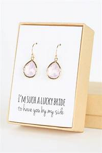 violet opal gold teardrop earrings bridal party gifts With gifts for wedding party