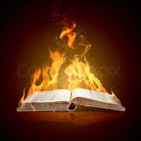 Burning The Past Southern Heat Book 3 by Burning Book Stock Photo Colourbox