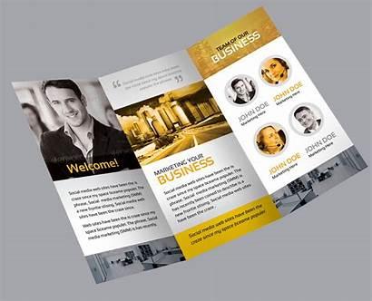 Creative Brochure Fold Tri Flora Corporate Brochures