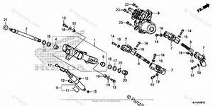 Honda Side By Side 2017 Oem Parts Diagram For Steering
