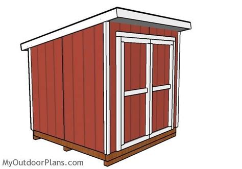 lean  shed plans outdoor shed plans  shed