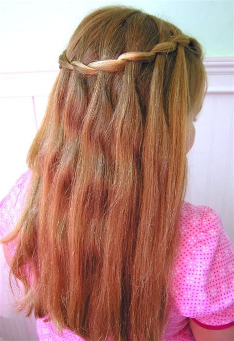 Braid Hairstyles For by Waterfall Braid Tutorials Waterfall Braid How How To