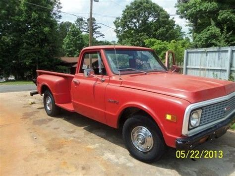 find used 1971 chevrolet chevy stepside c10 in united states