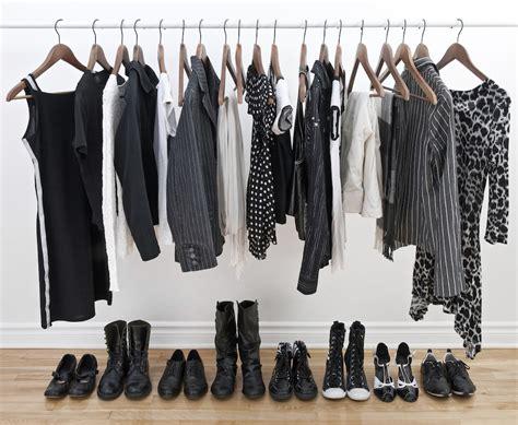 Black Clothes Wardrobe by How To Build A Minimalist Wardrobe Thefashionspot
