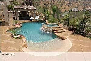 swimming pools with beach entry google search pool With beach entry swimming pool designs
