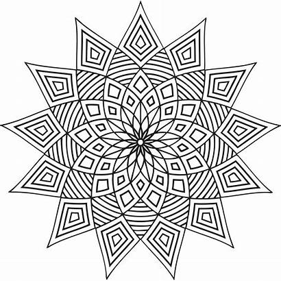 Coloring Pages Geometric Printable