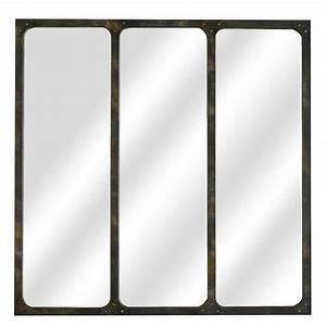 Miroir Rectangulaire Pas Cher : grand miroir mural rectangulaire pas cher adslev ~ Teatrodelosmanantiales.com Idées de Décoration