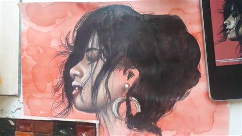 Drawing Camila Cabello Havana Youtube