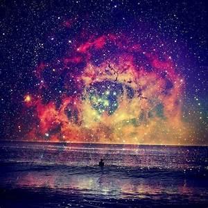 sky, stars, colorful, beautiful - image #461003 on Favim.com