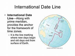 Prime Meridian And International Date Line Map Pictures To