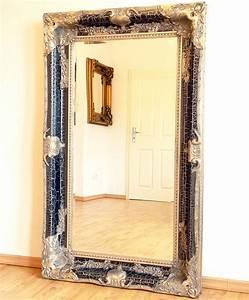 Miroir Baroque Noir : miroir baroque argente maison design ~ Teatrodelosmanantiales.com Idées de Décoration