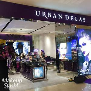 First Urban Decay Standalone Store in Singapore at