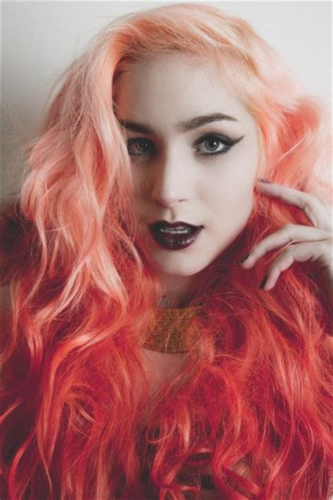 hair color trends   red ombre hairstyles pretty
