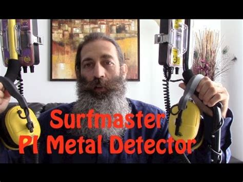 Surfmaster Metal Detector Pro