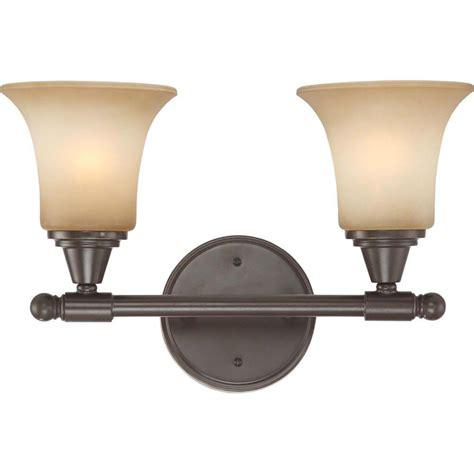 bronze vanity light glomar 2 light vintage bronze vanity fixture with auburn