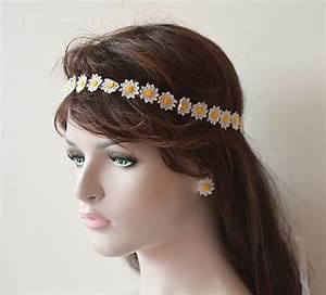 Wedding Hair Accessories Wedding Crochet Daisy Flower