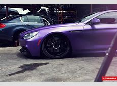 Frozen Purple BMW 6 Series Coupe Does Photo Shoot in