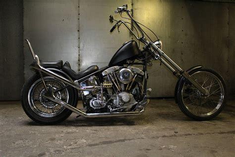 Harley Davidson Shovelhead Chopper Bobber Fishtail Exhaust