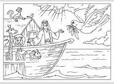 Dibujo para colorear el Arca de Noé Img 25999