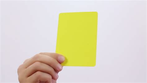 Download yellow card images and photos. Fair Play. Soccer Penalty Cards. Soccer Red And Yellow Card On White Background. Stock Footage ...