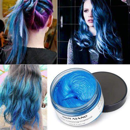 mofajang hair wax temporary hair coloring styling cream