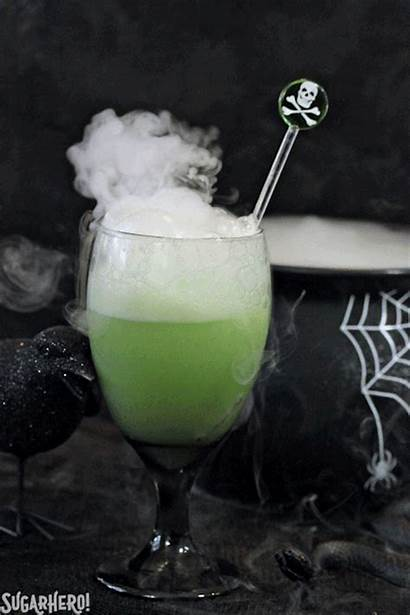 Punch Brew Halloween Witch Drinks Witches Sugarhero