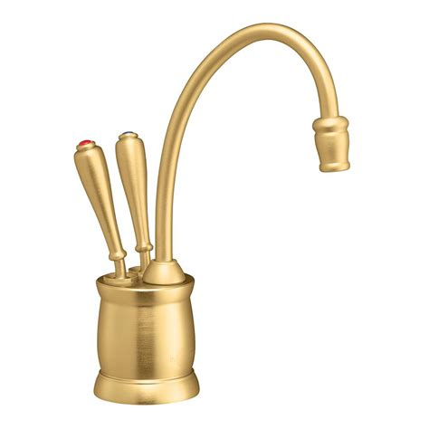 water dispenser faucet insinkerator indulge tuscan 2 handle instant and cold