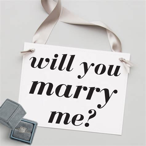 marry proposal banner sign signs ways rose quick proposals creative propose