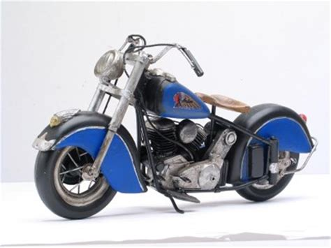 Fairfield 1950 Indian Chief Motorcycle Model 13343nx