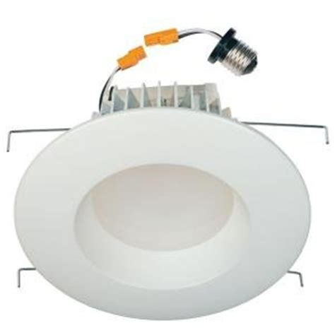 recessed heat l fixture commercial electric 6 in recessed white led retrofit trim