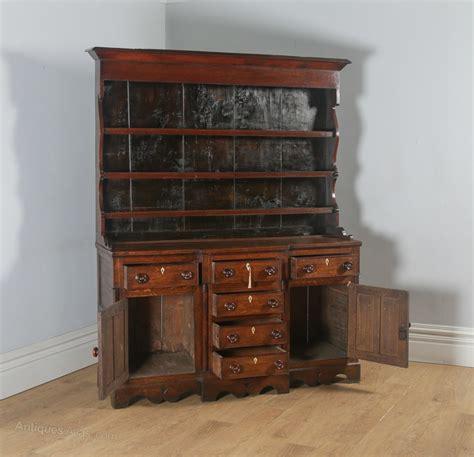 welsh anglesey breakfront georgian oak dresser antiques atlas