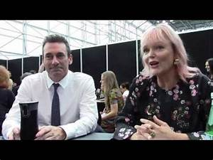'Good Omens' - Jon Hamm and Miranda Richardson Interview ...